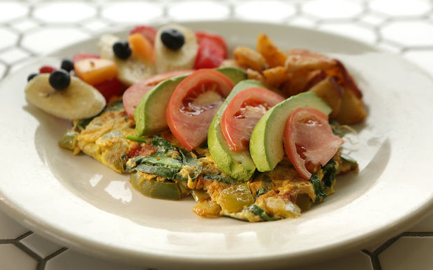Sea bright nj, local businesses, breakfast, vegetarian omelet